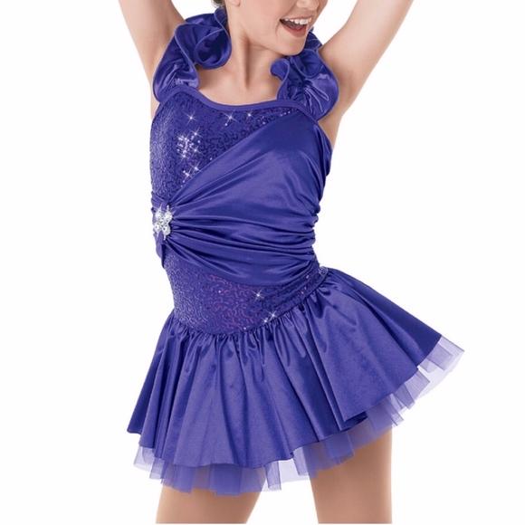 Weissman Perfectly Marvelous Purple Dance Costume